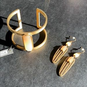 Vince Camino bracelet and earrings set